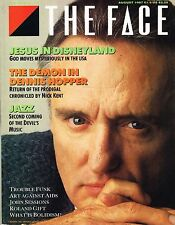 THE FACE #88 August 1987 DENNIS HOPPER Lee Konitz TROUBLE FUNK Roland Gift @EXCL