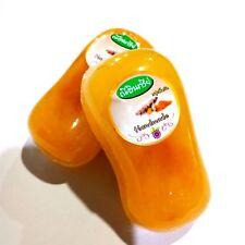 2Pcs Bar Soap turmeric luffa remove stain black spots skin allergies face body