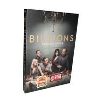Billions Season 3 4DVD Region 4 Brand New