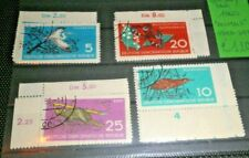 "FRANCOBOLLI GERMANIA GERMANY DDR 1960 ""ANIMALI""SERIE TIMBRATA USED SET (CAT.2)"