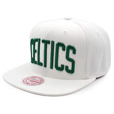 Boston Celtics s Classic White Snapback Mitchell & Ness NBA Adjustable Hat