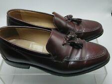 Johnston Murphy Aristocraft Mens Burgundy Leather Slip On Dress Shoes 9.5 D