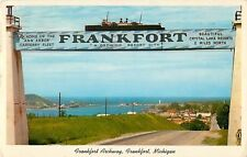 1960 The Archway, Frankfort, Michigan Postcard