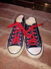 CONVERSE ALL STAR CHUCK TAYLOR CANVAS TENNIS SHOES SIZE MENS 4.5 WOMENS 6.5