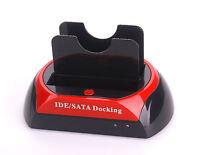 """2.5"""" 3.5""""IDE SATA HDD Hard Drive Disk Clone Holder TTLET Dock Docking Station"""