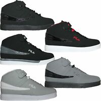 Mens Fila Vulc 13 Suede Nubuck Mid High Top Casual Athletic Sneakers Shoes F13