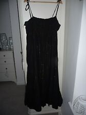 Gorgeous Black and Gold stripe dress size 16 from atmosphere
