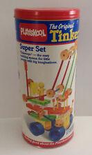 Vintage Playskool Tinkertoy Super Set