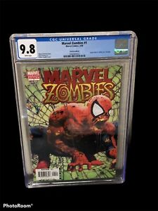 Marvel Zombies #1 CGC NM/M 9.8 Spider-Man #1 Homage Variant Cover!
