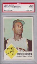 1963 Fleer Baseball  # 56 Roberto Clemente HOF PSA 7