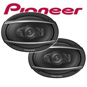 """Pioneer TS-A6970F 6x9"""" 5-Wege Oval Lautsprecher 600Watt PAAR Boxen System Set"""