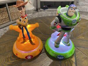 2019 Disney Pixar Toy Story 4 Sheriff Woody &  Buzz Lightyear Night Light