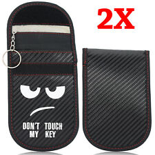 2X Blocking Bag Cartoon Car Key Signal Blocker Case Faraday Cage Pouch Keyless