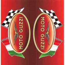 "Sticker "" MOTO GUZZI "" 68mm x 65mm BIC Lighter"