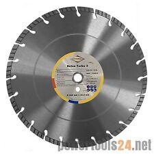 Cedima Diamant Trennscheibe Diamantscheibe Beton Turbo 3  D 350mm 25,4 / 20 mm