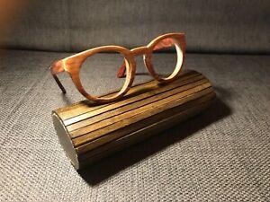 KERBHOLZ Holzbrille, NEU und ungetragen, Rosewood, unisex, ohne Gläser