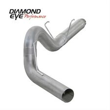 "Diamond Eye K5252A 5"" D.P.F. Back Exhaust, Single, Alum, For 07.5-12 Dodge"