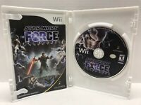 Star Wars: The Force Unleashed (Nintendo Wii Game, 2008) Complete