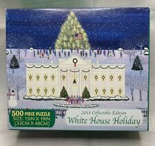 2011 White House 500 Piece Jigsaw Puzzle Holiday Collectible Edition Briarpatch