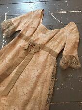 Vestido de Boda True Vintage 1960s Madison Avenue para Dama Volante Original