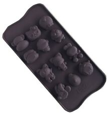 1 pc Silicon Carton Shaped Chocolate Cake Candy Baking Mould Ice Block Tool