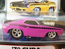 MUSCLE MACHINES (1970) '70 PLYMOUTH 'CUDA AAR - SUPERCHARGED - 1/64 DIECAST