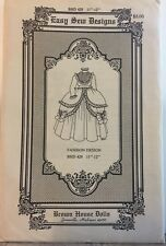 """Brown House Doll Easy Sew Designs B293 12""""-13"""" Pattern"""