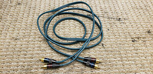 Tributaries 6' stereo patch cord phono gold plugs