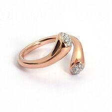 Roségouden ring briljant