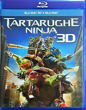 Tartarughe Ninja (3D) (Blu-Ray+Blu-Ray 3D) Dvd