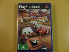 Disney PIXAR Cars Mater National Sony PlayStation 2 PS2 PAL Factory Sealed New