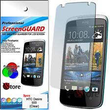 3 Pellicola Per HTC Desire 500 Proteggi Salva Schermo Display LCD Pellicole