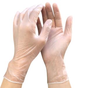 100 pcs Disposable Nitrile Exam Gloves Powder-Free Strong Non Latex Non Vinyl