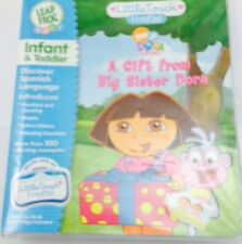 Leap Frog Leap Pad Little Touch A Gift From Big Sister Dora Infant & Toddler