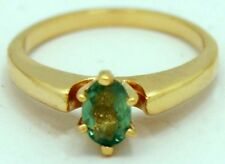 NATURAL 0.45 Carats ALEXANDRITE RING 10k Yellow Gold *FREE SHIPPING & APPRAISAL*