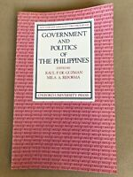 Southeast Asian Studies Program Government & Politics of the Philippines SIGNED
