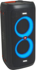 JBL Partybox 100 schwarz Party Lautsprecher Karaoke Anlage USB Player