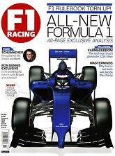 February F1 Racing Sports Magazines in English