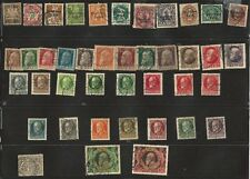 Bavaria Stamps 1911-1920  41 Assorted denominations Used. SCV$147.00 +++