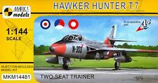 Mark I Models 1/144 HAWKER HUNTER T.7 British Jet Trainer