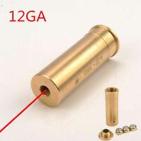 12GA Brass Bore Sighter Cartridge Red Laser 12 Gauge Boresighter Hunting