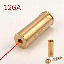 12GA Brass Bore Sighter Cartridge Red Laser 12 Gauge Boresighter Shotgun Rifle