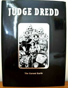 Hard Back Book with Dust Jacket Judge Dredd - The Cursed Earth 2002