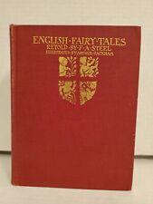 English Fairy Tales Illustrated By Arthur Rackham Macmillan NY 1st Edition 1918