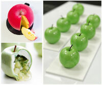 Silicone Apple Shape 8 Cavities 3D Cake Tools Mold Mousse Fondant Pastry Baking