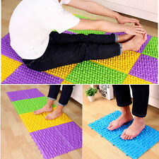 Reflexology Foot Massage Pad Toe Pressure Mat Blood Circulation Shiatsu 30*25cm