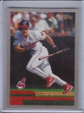 OMAR VIZQUEL 2000 Topps Limited #363 (4,000 produced)  (C615)