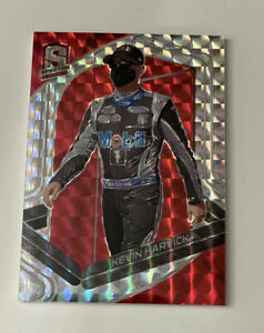 2021 Chronicles Nascar Racing- SPECTRA - KEVIN HARVICK RED PRIZM 18/49 #65