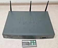 Cisco 881 4-Port 10/100 Wireless Router Cisco881Gw-Gn-A-K9 Tested! Free Shipping