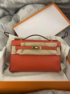 Hermes Kelly Pochette Bag/ New